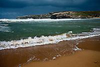 Europe/France/Bretagne/56/Morbihan/ Belle-Ile-en-Mer/Donnant: Port Donnant - Plage de Donnant