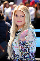 Singer/actress Meghan Trainor at the world premiere for &quot;Smurfs: The Lost Village&quot; at the Arclight Theatre, Culver City, USA 01 April  2017<br /> Picture: Paul Smith/Featureflash/SilverHub 0208 004 5359 sales@silverhubmedia.com