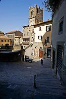 Palazzo Communale  in Cortona<br /> Town Hall  in Cortona