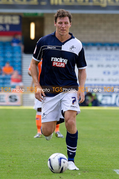 Darius Henderson, Millwall FC - Millwall vs Blackpool - NPower Championship Football at the New Den, London - 18/08/12 - MANDATORY CREDIT: Ray Lawrence/TGSPHOTO - Self billing applies where appropriate - 0845 094 6026 - contact@tgsphoto.co.uk - NO UNPAID USE.