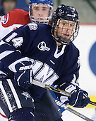(Scheu) Mike Borisenok (UNH - 14) - The visiting University of New Hampshire Wildcats defeated the University of Massachusetts-Lowell River Hawks 3-0 on Thursday, December 2, 2010, at Tsongas Arena in Lowell, Massachusetts.