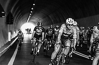 John Degenkolb (DEU/Trek-Segafredo) leaving the tunnel on the highest point of the course: the Passo Del Turchino (532m)<br /> <br /> 108th Milano - Sanremo 2017