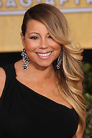 LOS ANGELES, CA - JANUARY 18: Mariah Carey at the 20th Annual Screen Actors Guild Awards held at The Shrine Auditorium on January 18, 2014 in Los Angeles, California. (Photo by Xavier Collin/Celebrity Monitor)