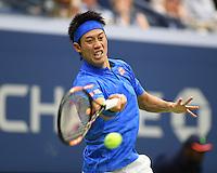 FLUSHING NY- SEPTEMBER 07: Andy Murray Vs Kei Nishikori on Arthur Ashe Stadium at the USTA Billie Jean King National Tennis Center on September 7, 2016 in Flushing Queens. Credit: mpi04/MediaPunch