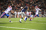 Ole Miss vs. Louisiana Tech's Matt Nelson (33) in Oxford, Miss. on Saturday, November 12, 2011.