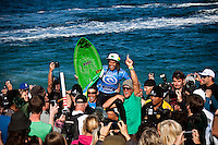 SILVANA LIMA (BRA)  Bells Beach, Torquay Victoria, Australia (Sunday, April 12 2009) -The 2009 Rip Curl Women's Pro Bells Beach finished  today completed  in one meter waves along the Rincon section of Bells Beach. SILVANA LIMA (BRA) claimed her maiden WCT victory defeating defending event winner and current World Surfing Champion STEPHANIE GILMORE (AUS). This years event at the iconic Bells Beach is event number 2 of 8 on the 2009 ASP Women's World Tour and it is the longest running ASP event. Gilmore sits on top of the ratings with a win at the first event and a second at the Rip Curl Women's Pro. Photo: joliphotos.com