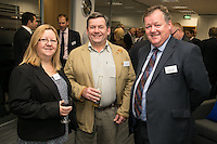 Christine and Aland Herd of Progrip Systems with Mark Fraser (right) of St James's Place