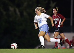 UNC's Elizabeth Guess (30) on Thursday, October 20th, 2005 at Fetzer Field in Chapel Hill, North Carolina. The University of North Carolina Tarheels defeated the North Carolina State University Wolfpack 1-0 during an NCAA Division I Women's Soccer game.
