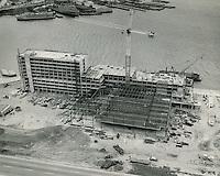 1975 April 05..Redevelopment.Downtown South (R-9)..Omni Hotel Construction taken at 1PM..John Servais.NEG# 2203 #4.NRHA#..