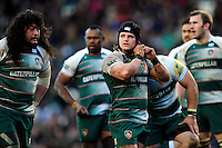 Harry Thacker of Leicester Tigers. Aviva Premiership match, between Leicester Tigers and Exeter Chiefs on March 6, 2016 at Welford Road in Leicester, England. Photo by: Patrick Khachfe / JMP