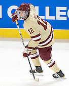 Kevin Hayes (BC - 12) The Boston College Eagles defeated the Air Force Academy Falcons 2-0 in their NCAA Northeast Regional semi-final matchup on Saturday, March 24, 2012, at the DCU Center in Worcester, Massachusetts.