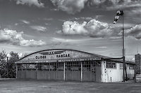 The Glider Hangar at Harris Hill Gliderport, the birthplace of soaring in the USA, located in Elmira, New York
