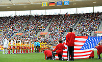 Team USA at the opening ceremony during the FIFA Women's World Cup at the FIFA Stadium in Sinsheim, Germany on July 2nd, 2011.