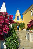 Theotokos, Monastery, Paleokastitsa, 18th century Greek Orthodox. Corfu Ionian Island, Greece