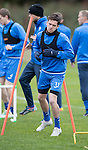 St Johnstone Training&hellip;..21.10.16<br />Danny Swanson pictured during training ahead of Sunday&rsquo;s game against local rivals Dundee with Joe Shaughnessy<br />Picture by Graeme Hart.<br />Copyright Perthshire Picture Agency<br />Tel: 01738 623350  Mobile: 07990 594431