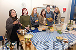 Pictured at Oliver McCabe's author of Fuel Foods, Cookery Demonstration in The Barracks, Cahersiveen on Saturday evening were l-r; Holly Power, Isabel O'Shea, Julia O'Shea, Jacinta Tyndell, Chef Oliver McCabe & Suzan Turan.