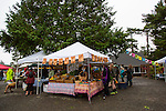 The farmers' market in Manzanita, Oregon