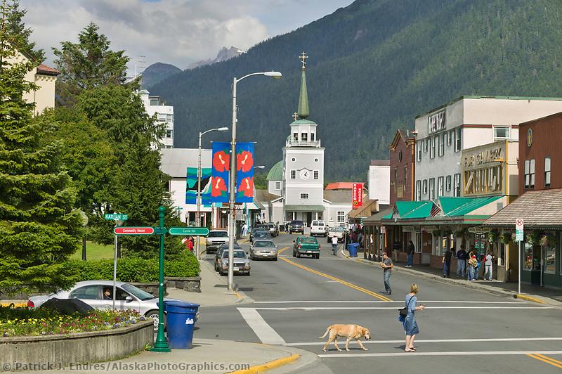 Downtown Sitka, Southeast, Alaska