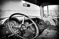 Old Ford Truck interior - Arizona