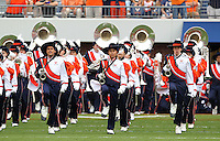 Sept. 3, 2011 - Charlottesville, Virginia - USA; The Virginia Cavaliers band marches during an NCAA football game against William & Mary at Scott Stadium. Virginia won 40-3. (Credit Image: © Andrew Shurtleff