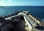 Walls of El Morro Castle in San Juan NHS