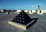 Cannon balls and Lighthouse at El Morro Castle