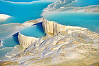 Photo &amp; Image  of Pamukkale Travetine Terrace, Turkey. Picture of the white Calcium carbonate rock formations. Buy as stock photos or as photo art prints. 2