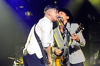 LONDON, ENGLAND - SEPTEMBER 7: Pete Doherty and Carl Bar&acirc;t of 'The Libertines' performing at Brixton Academy on September 7, 2016 in London, England.<br /> CAP/MAR<br /> &copy;MAR/Capital Pictures /MediaPunch ***NORTH AND SOUTH AMERICAS ONLY***