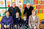 At Caherleaheen NS Grandparents Day on Friday were front l-r  Betty Lynch Emma Lynch, Tadhg Lynch, Hanah Lynch Back l-r Jim Lynch and Tom Lynch