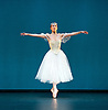 The Royal Danish Ballet soloists &amp; principals <br /> Bournoville Celebration <br /> at The Peacock Theatre, London, Great Britain <br /> press photocall<br /> 9th January 2015 <br /> <br /> La Sylphide <br /> <br /> <br /> Gudrun Bojesen as the Sylph <br /> <br /> <br /> <br /> Photograph by Elliott Franks <br /> Image licensed to Elliott Franks Photography Services