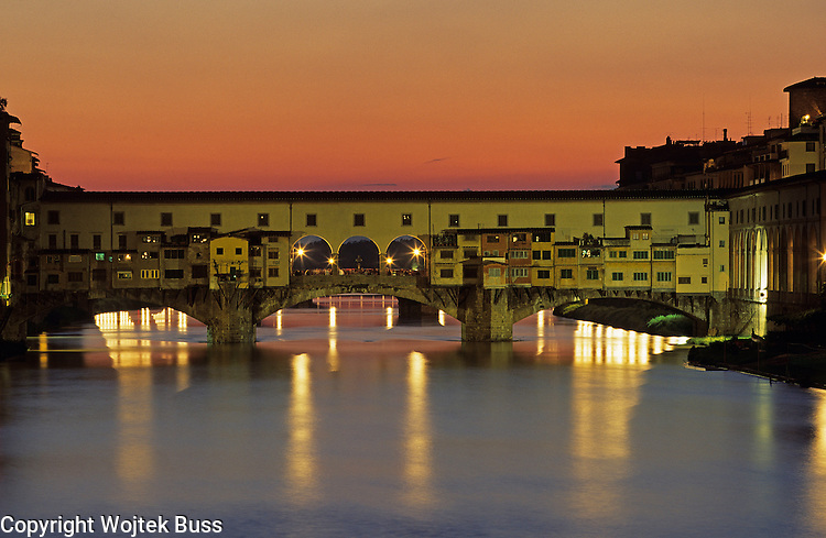 Italia,Toscana,Florence,Ponte Vecchio