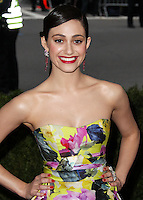 """NEW YORK CITY, NY, USA - MAY 05: Emmy Rossum at the """"Charles James: Beyond Fashion"""" Costume Institute Gala held at the Metropolitan Museum of Art on May 5, 2014 in New York City, New York, United States. (Photo by Xavier Collin/Celebrity Monitor)"""
