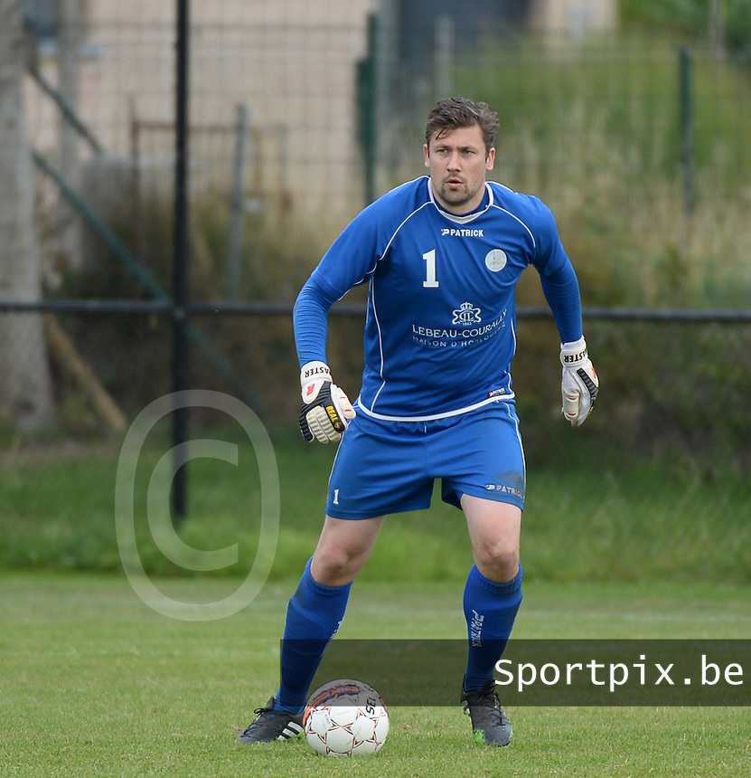 SKV Zwevezele : Sam De Jaeghere <br /> Foto VDB / Bart Vandenbroucke