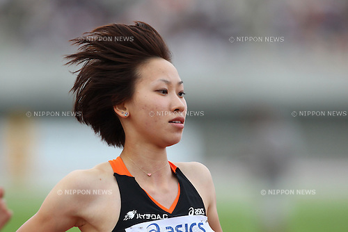 Chisato Fukushima, JUNE 11th, 2011 - Athletics : The 95th Japan Track & Field National Championships Women's 100m Final at Kumagaya Stadium, Saitama, Japan. (Photo by YUTAKA/AFLO SPORT) [1040]..