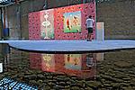 Exposição de arte contemporânea indiana no Sesc Pompeia. São Paulo. 2010. Foto de Juca Martins.