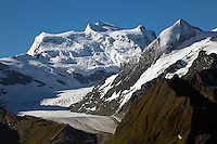 The Grand Combin massif, Switzerland.