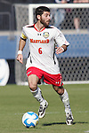 14 December 2008: Rich Costanzo (6) of Maryland.  The University of Maryland Terrapins defeated the University of North Carolina Tar Heels 1-0 at Pizza Hut Park in Frisco, TX in the championship game of the 2008 NCAA Division I Men's College Cup.