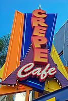 Universal City California; Crepe Cafe, Restaurant, LA, Citywalk, Universal studios