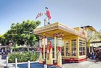 Farmers Market, Gilmore Gas Station, Mid Wilshire, Los Angeles CA