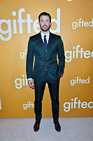 Actor Chris Evans at the premiere for &quot;Gifted&quot; at The Grove. Los Angeles, USA 04 April  2017<br /> Picture: Paul Smith/Featureflash/SilverHub 0208 004 5359 sales@silverhubmedia.com