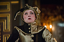 London, UK. 10.04.2014. Shakespeare's Globe presents THE MALCONTENT, in the Sam Wanamaker Playhouse, with the Globe Young Players, directed by Caitlin McLeod. Picture shows: Freya Parks (Passarello). Photograph © Jane Hobson.