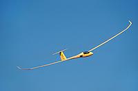 Segelflugzeug Quintus: DEUTSCHLAND 28.07.2015: Segelflugzeug vom Typ  Quintus in Spanien.