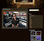 Dave Cohen photo on splash page of his website.