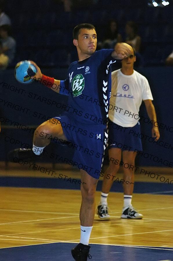 SPORT RUKOMET HANDBALL U21 NATIONAL TEAM SERBIA AND MONTENEGRO Ivancev 3.8.2006. photo: Pedja Milosavljevic<br />