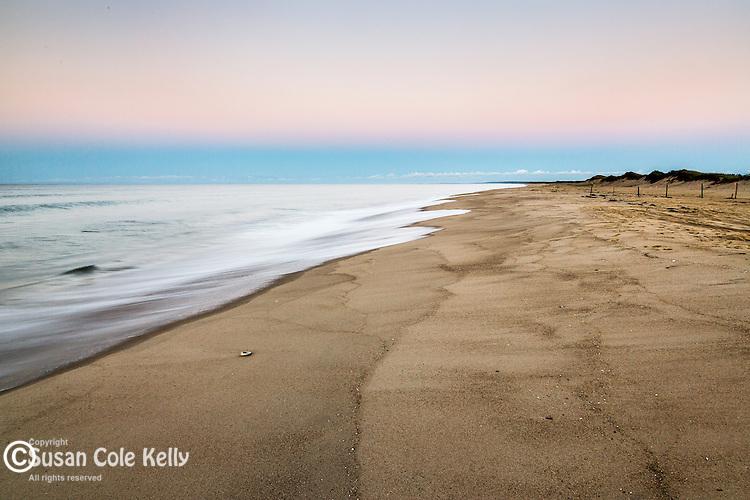 Dawn at Katama Beach, Edgartown, Marthas Vineyard, Massachusetts, USA