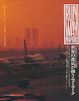Runway Magazine Cover, JFK airport