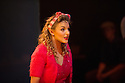 London, UK. 09.10.2014. Mountview Academy of Theatre Arts presents CURTAINS, at the Bernie Grant Arts Centre. Picture shows: Kirsten Wright (Bambi Bernet). Photograph © Jane Hobson.