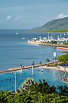 The Esplanade Lagoon.  Cairns, Queensland, AUSTRALIA