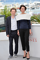 Jeanne Balibar &amp; Mathieu Amalric at the photocall for &quot;Barbara&quot; at the 70th Festival de Cannes, Cannes, France. 18 May 2017<br /> Picture: Paul Smith/Featureflash/SilverHub 0208 004 5359 sales@silverhubmedia.com
