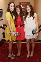 """NO REPRO FEE. 17/1/2010. The Field opening night. Laura, Anne and Lainey Keane are pictured at the Olympia Theatre for the opening night of John B Keanes 'The Field"""" Picture James Horan/Collins"""